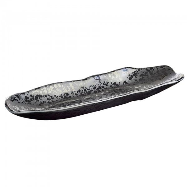 Tablett - Melamin - schwarz - Serie Glamour - APS 84375