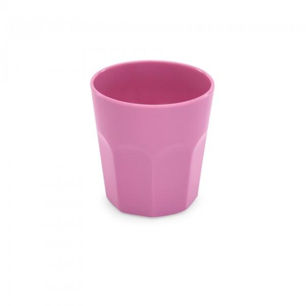 Becher - Melamin - versch. Farben - 0,25 oder 0,42 l - rosa