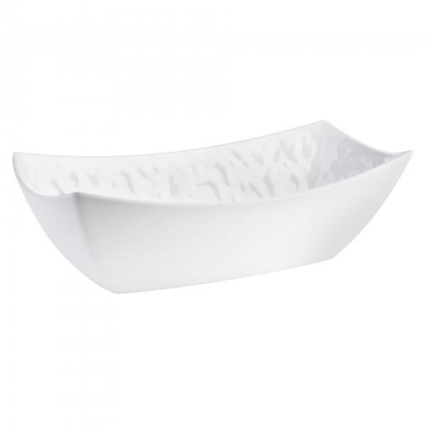 Schale - Melamin - weiß - rechteckig - Serie Tao - APS 83639