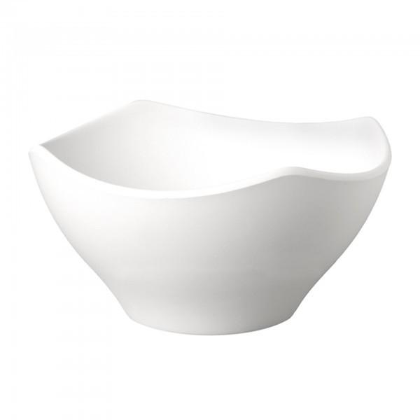 Schale - Melamin - weiß - Serie Zen - APS 83710