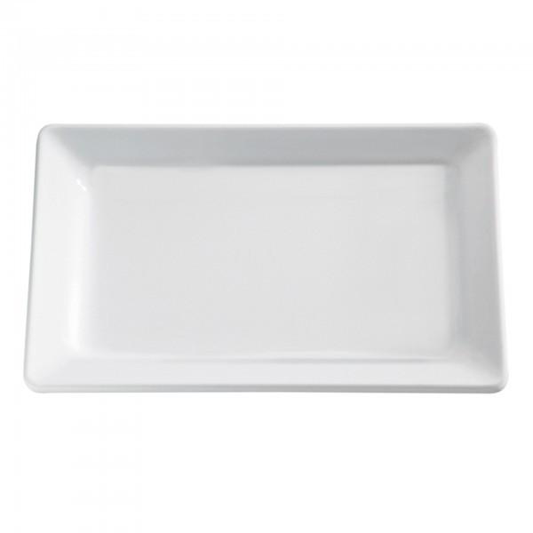 Tablett - Melamin - weiß - rechteckig - Serie Pure - APS 83597
