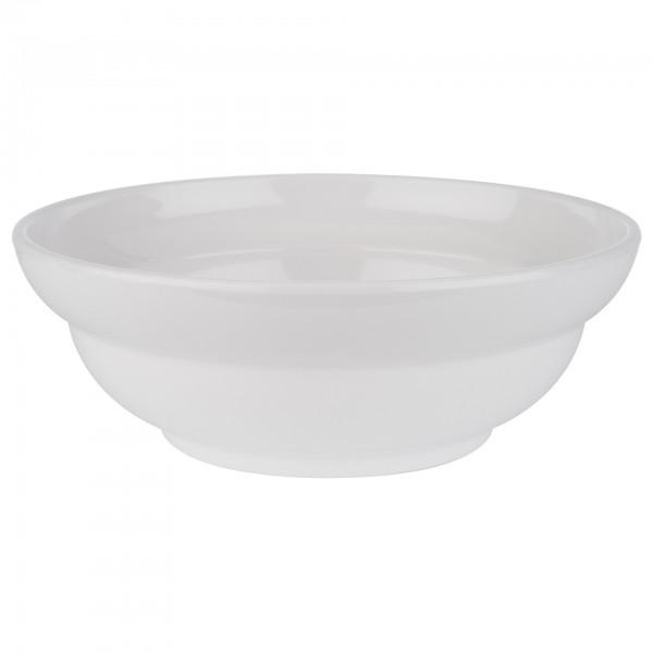 Schale - Melamin - weiß - rund - Serie Poke Bowl - 85003
