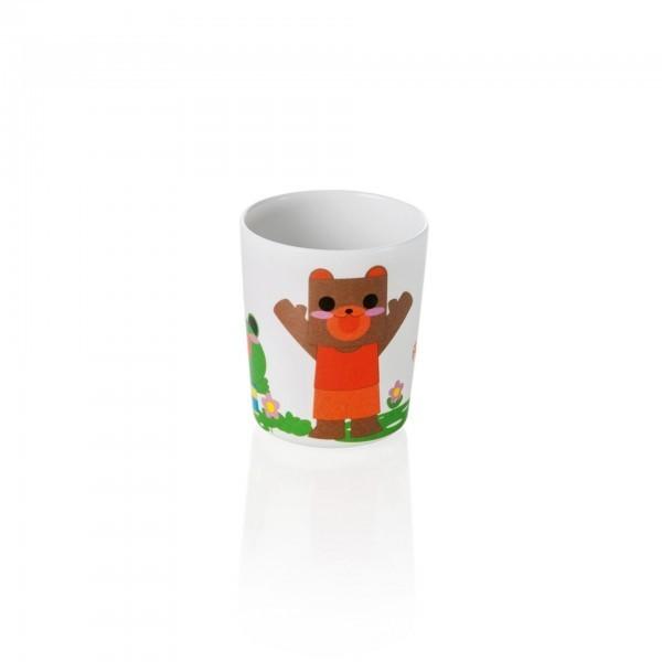 Kinderbecher - Melamin - Bär - Hund - Katze - Frosch - premium Qualität