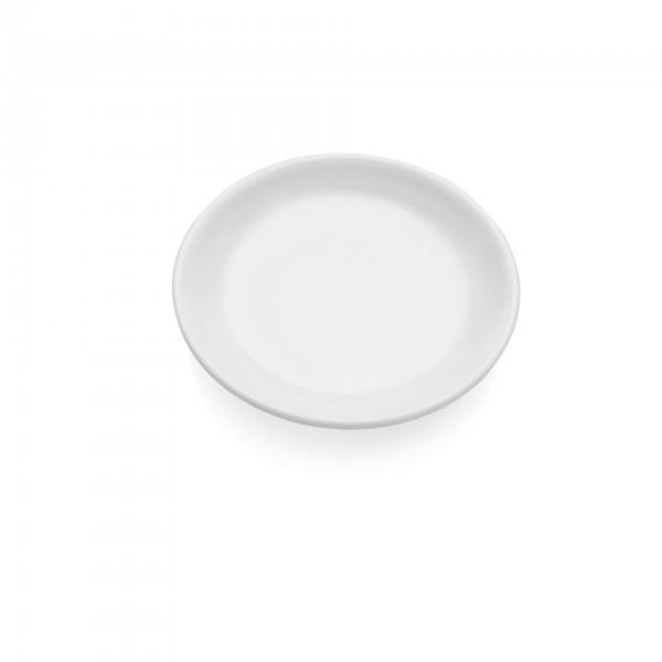 Servierplatte - Melamin - rund