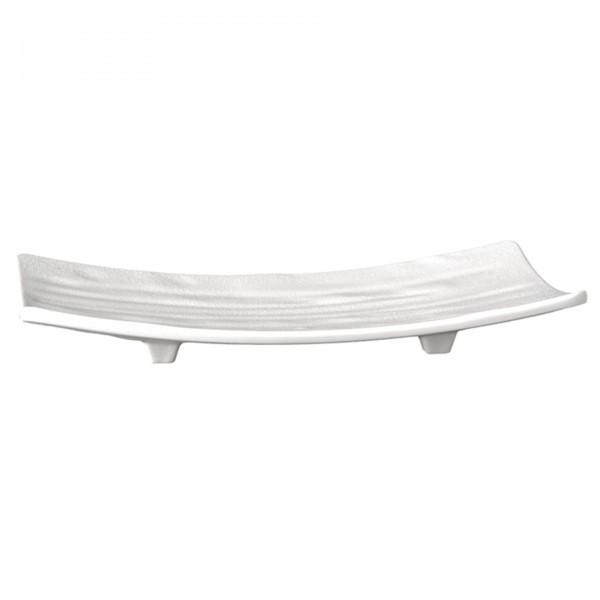 Tablett / Sushiboard - Melamin - weiß - Serie Zen - APS 83738