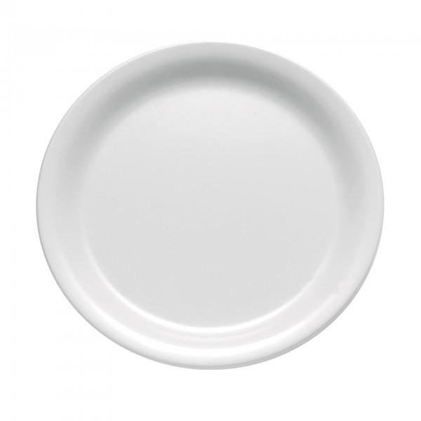 Teller - Melamin - weiß - rund - Serie Casual - APS 83500