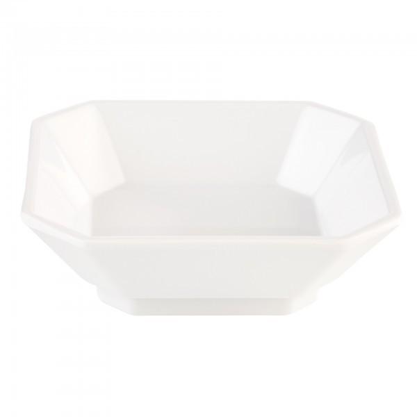 Schale - Melamin - weiß - quadratisch - Serie Mini - APS 84751