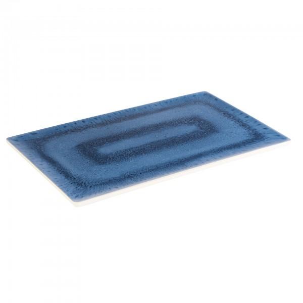GN-Tablett - Melamin - weiß / blau - rechteckig - Serie Blue Ocean - 84670