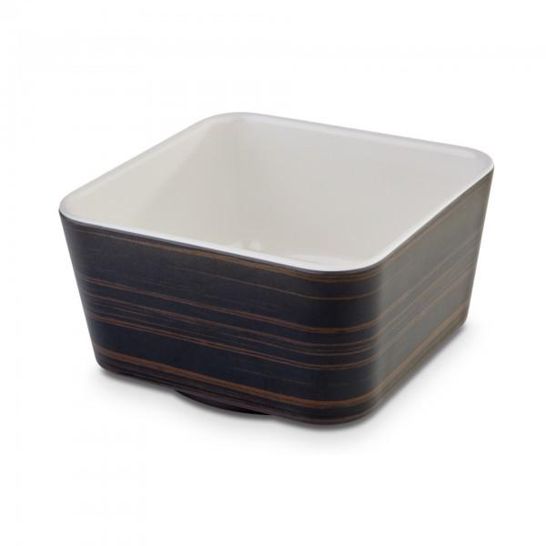 Schale - Melamin - cream - quadratisch - Serie Universal - APS 15215