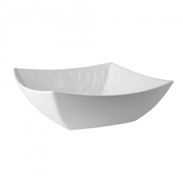 Schale - Melamin - weiß - quadratisch - Serie Tao - APS 83642