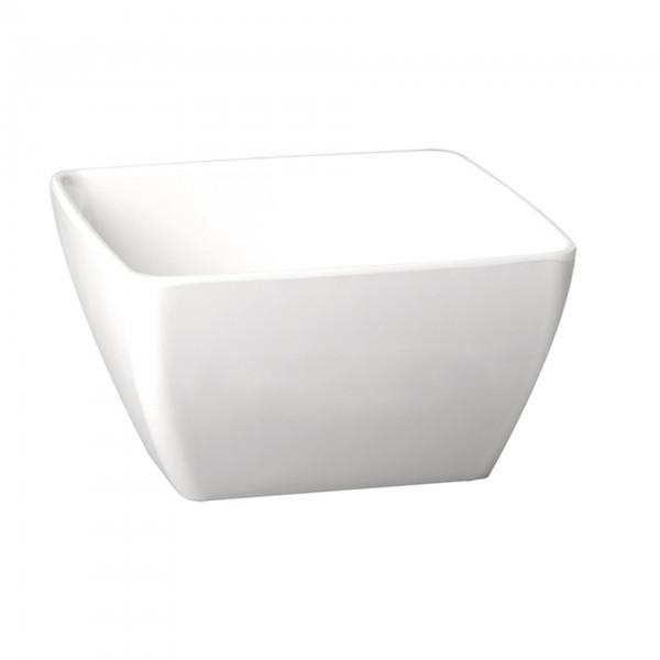 Schale - Melamin - weiß - rechteckig - Serie Pure Color - APS 83414