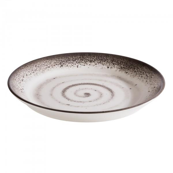 Tablett - Melamin - weiß - rund - Serie Circle - 84875