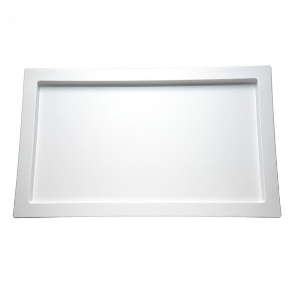 GN-Tablett - Melamin - weiß - Serie Frames - APS 84046