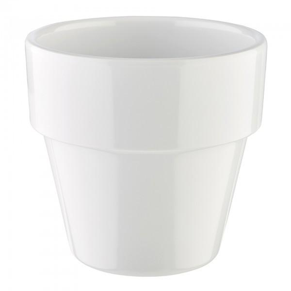 Schale - Melamin - weiß - rund - Serie Flower Pot - APS 84473